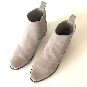 DOLCE VITA Tan suede ankle boots 9.5